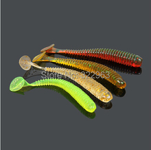 2014 Newest soft Lures Luminous 7cm 1.2g Artificial Bait Soft Fish Lure Noctilucent Soft Fishes Free shipping R03A1