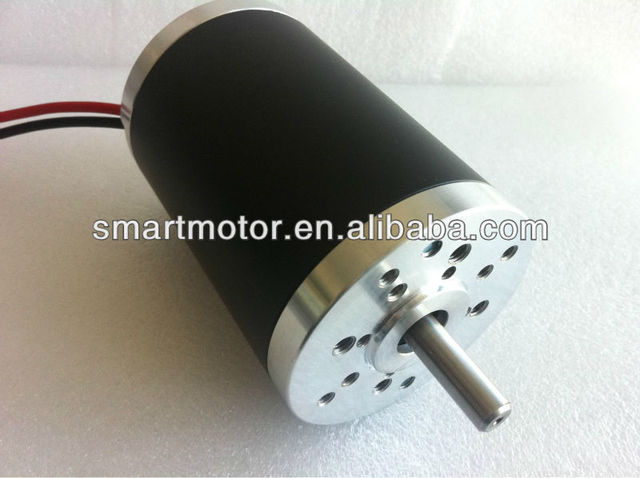 63ZYT01B- 24v  high torque high speed Dc Motor, rated 4000rpm, 0.2Nm, 85w, no load 4700 rpm