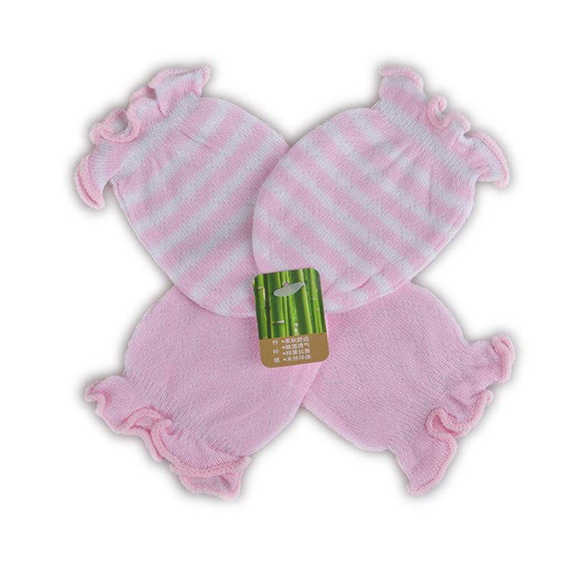 2 Pairs Newborn Baby Gloves Mittens Cotton Anti Scratching Baby Gloves For Newborn Baby Boy Mittens Full Finger Gloves Girl(China (Mainland))