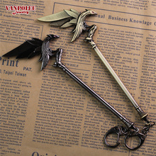 Buy Hot Online Game League New Legends LOL keychain Fashion 17cm Alloy Key Ring Raven's Weapon Jewelry Men Jewelry Kids Gifts for $3.69 in AliExpress store