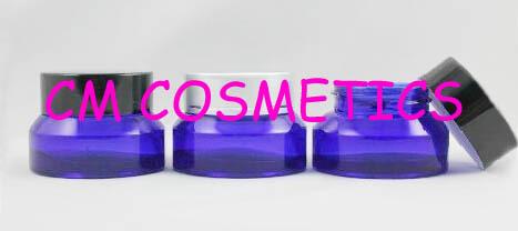 15g High quality oblique blue cream jar Match Screw Cap,cosmetic jar,eye cream jar,  Skin Care Cream<br><br>Aliexpress
