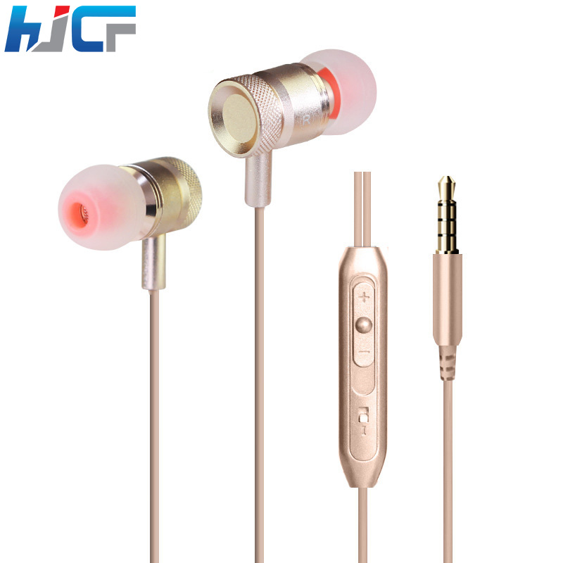 Quality Metal Earphone In Ear Headphone Super Bass Sound With Microphone For iPhone Samsung Xiaomi All Mobile Phone KDK203(China (Mainland))
