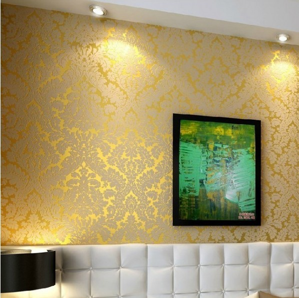 Luxury gold wallpaper for Gold wallpaper for home