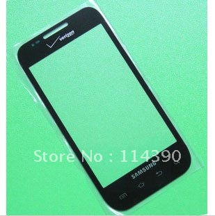 New repair Black LCD Outer Glass Lens fit for Verizon Samsung Fascinate i500 Free shipping(China (Mainland))