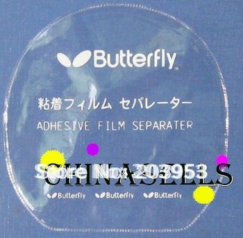 12pcs butterfly TT pingpang table tennis rubber protective film in stock