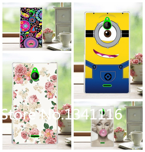 8 Pattern New Arrival Fashion Hard Plastic Case For Nokia X2 Case Cover For Nokia X2 Back Cover+ Free Stylus(China (Mainland))