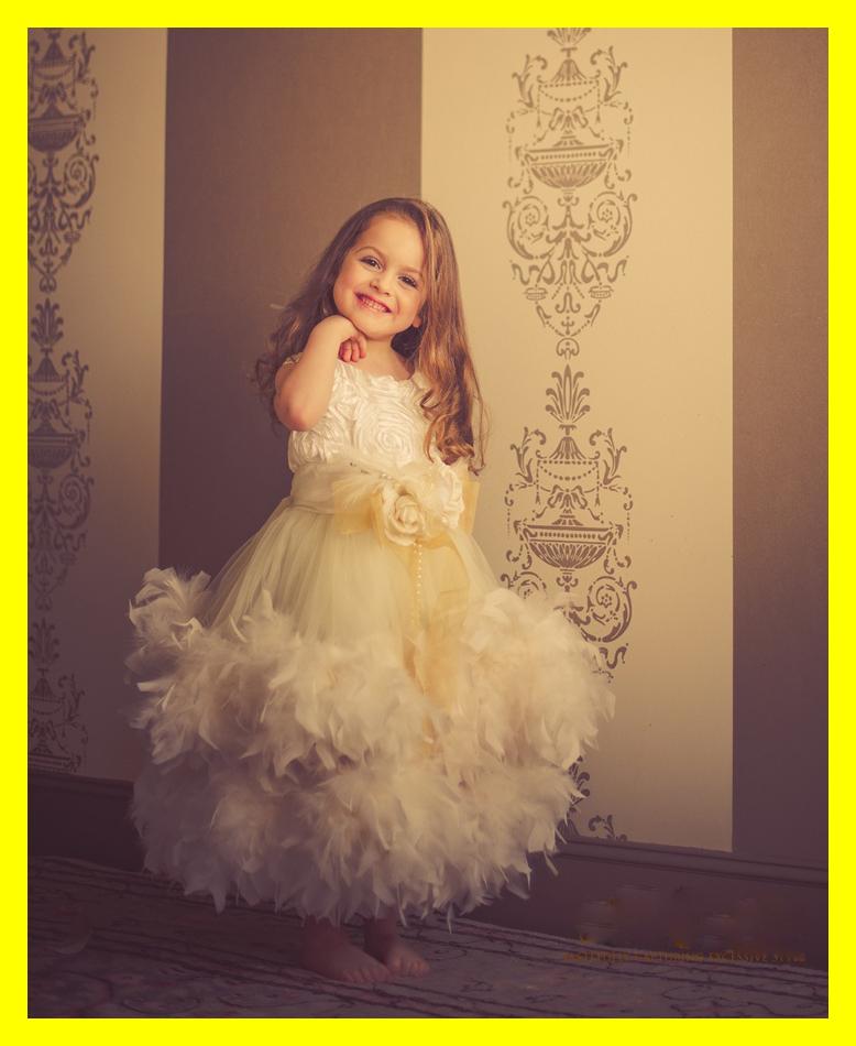 Flower Dress Girl Dresses Under Baby Blue Girls Monsoon Scoop Spaghetti Straps Sleeveless