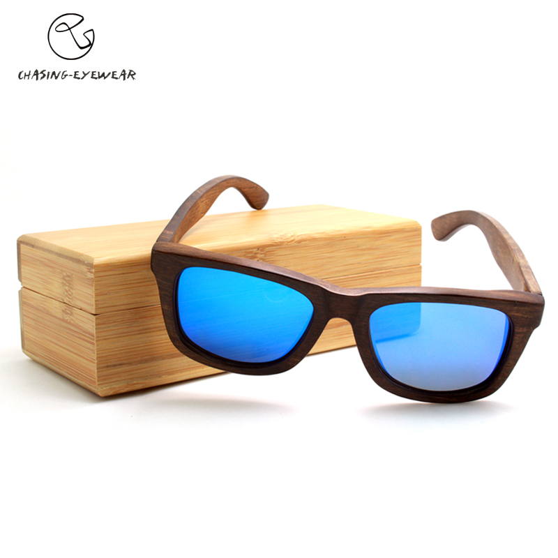 2016 NEW Designer Vogue Wood Sunglasses Polarized Vintage Men Wooden Glasses Coating Summer Style Gafas De Sol Oculos CS10122J(China (Mainland))