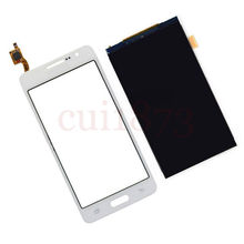Replacement Touch Screen Digitizer Glass Sensor + LCD Display Panel Screen For Samsung Galaxy Grand Prime SM-G530H White(China (Mainland))