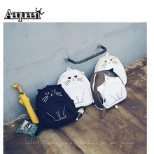 Hot Sales Cute Cat Backpack For Women Backpacks School Bag Printing Backpack For Teenager Girls Mochila Bags(China (Mainland))