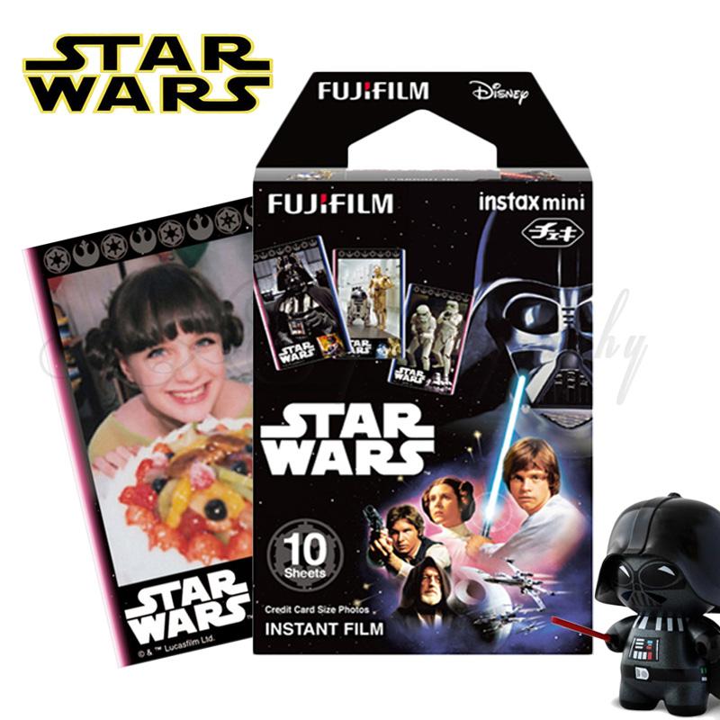 2016 Original Star Wars 10pcs Fujifilm Instax Mini 8 Film Fuji Photo Paper For Polaroid 8 50s 7s 90 25 Share SP-1 Instant Camera(China (Mainland))