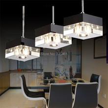 Lampada de LED Crystal Pendant Lights Kitchen/Living Room/Bedroom Aisle Hanging Light Crystal Pendant Lamps Decorative luminaire(China (Mainland))