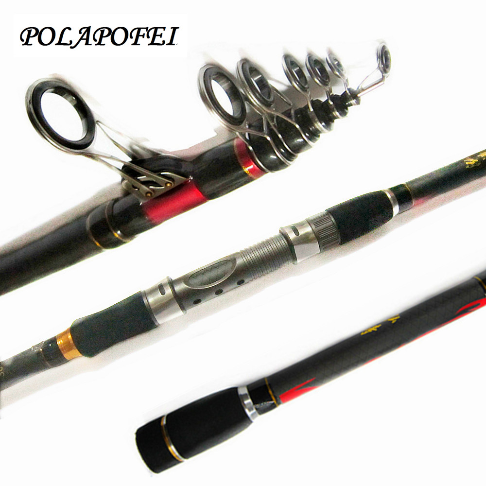2.1m~3.6m high carbon telescopic fishing rod fit for shimano reel peche lure spinning pole feeder carp fish olta equipment E241(China (Mainland))