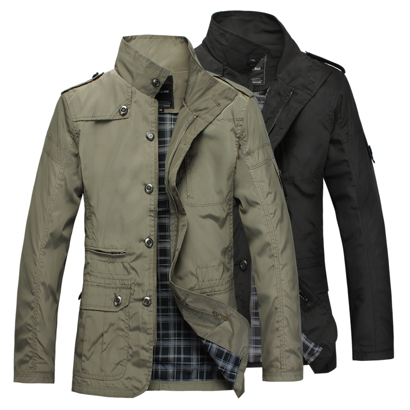 Brand Men's slim Jacket coat Fashion jaqueta Business Casual Coats for men chaqueta male jackets Outerwear Veste Homme(China (Mainland))