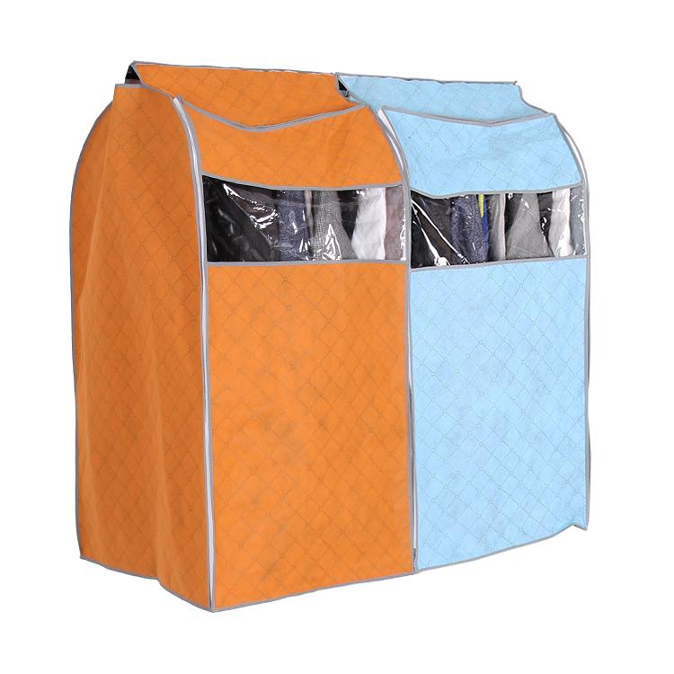 Casaco de vestuário cobertura de fibra de bambu roupa saco de armazenamento(China (Mainland))