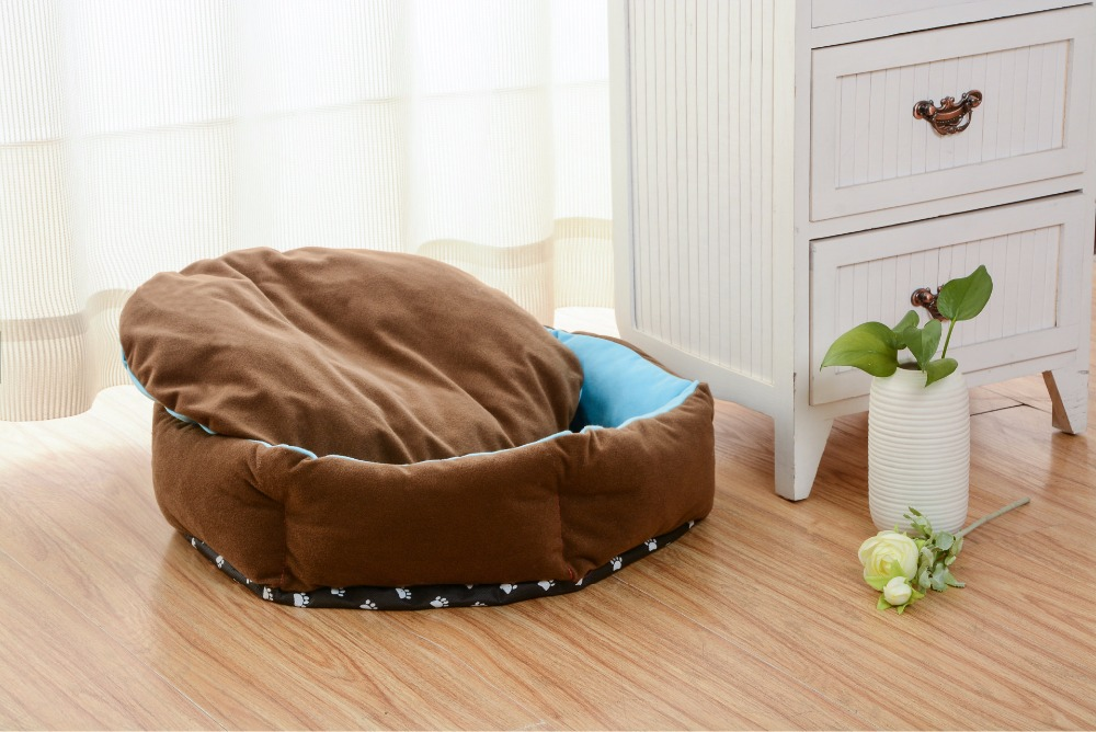 Cute Patchwork Dog Bed Pet Bed Warm Soft Dogs Kennel Dog House Pet Sleeping Bag Cat Bed Cat House Cama Perro DC0152(China (Mainland))