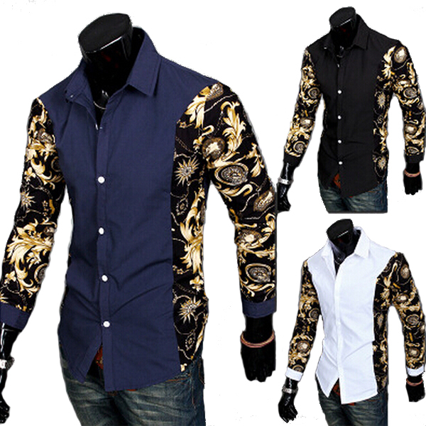 Designer Men's Clothing Brands New Brand Men Shirt