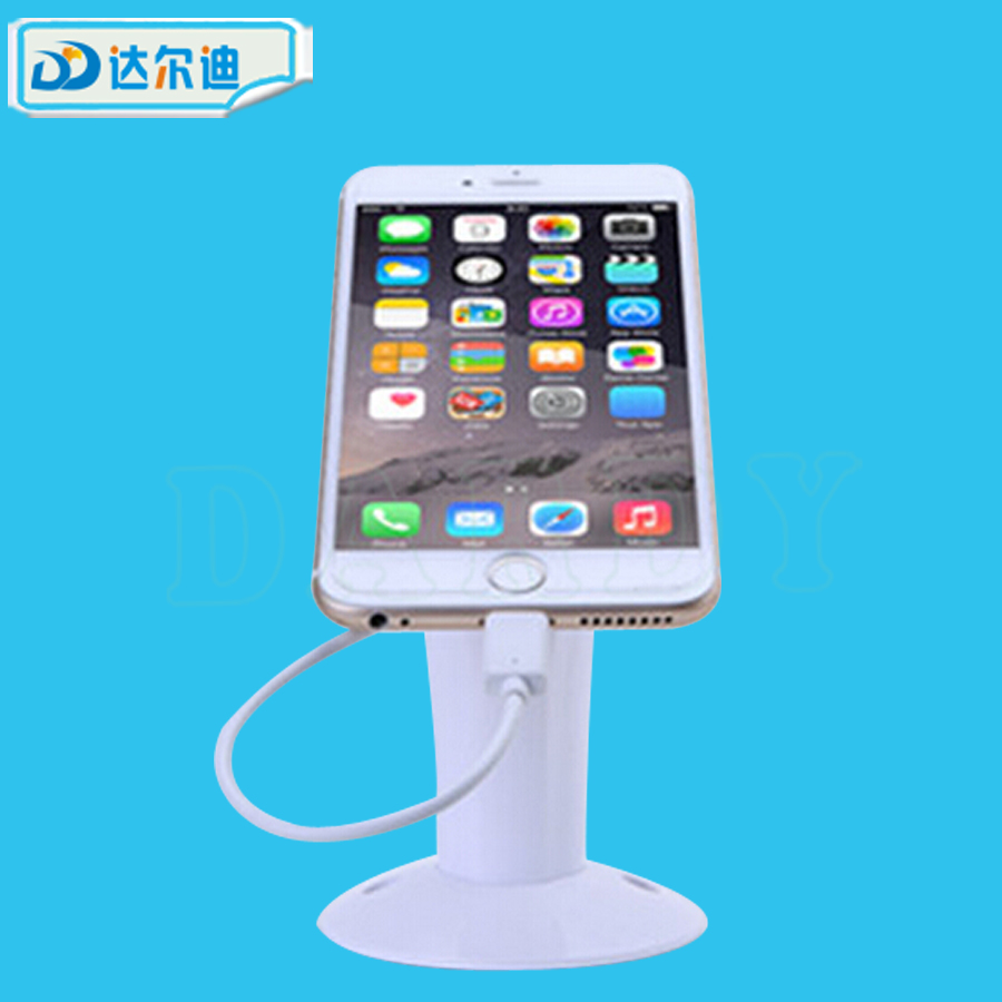 Mobile Phone Arcade Building Shop Store Anti-theft Device Burglar Proof Security Display Stand with Multiple Ports Alarm System(China (Mainland))