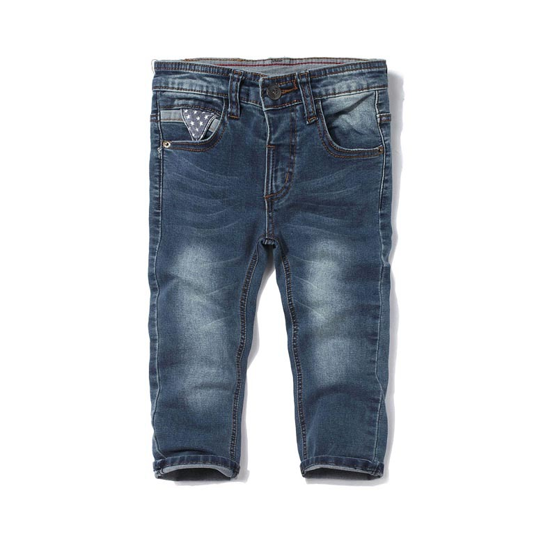 New Arrival kids pants boys Spring and Autumn Kids Jeans Children Inner elastic waist pants toddler boy jeans(China (Mainland))