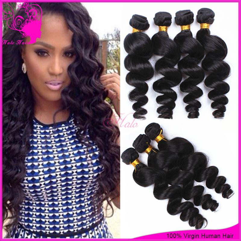 bele virgin hair peruvian loose wave 3pcs lot grade 6a unprocessed virgin pruvian hair weaves extensions paypal free shipping(China (Mainland))