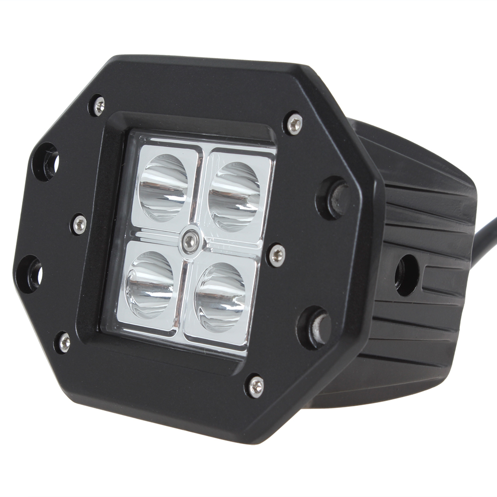 4 x 4w high intensity offroad car led work light lamp. Black Bedroom Furniture Sets. Home Design Ideas