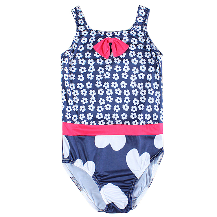 girls swimwear biquini infantil swimsuit for girls toddler swimwear with beautiful flowers printed and bow decorated R6149<br><br>Aliexpress