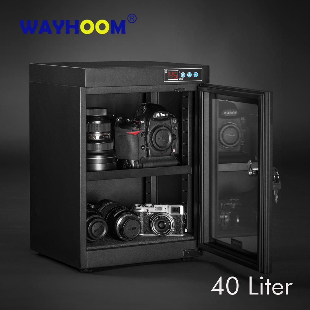 Automatic Dry Box Moisture-proof Box Electronic Dry Cabinet SLR Dehumidify WDD-45 Touch LED Digital Display(China (Mainland))