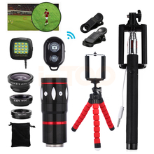 Buy 2017 10x Zoom Telephoto Lens Fisheye Wide Angle Macro Lentes Telescope Xiaomi redmi 2 3 S 4 note 3 MI6 MI5 Cell Phone Lenses for $21.38 in AliExpress store