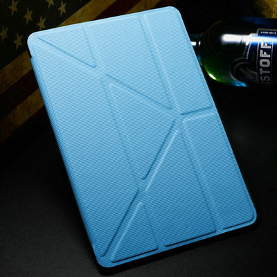 Гаджет  5 Shapes Magnetic Stand PU Leather case for iPad Mini Smart cover Smartcover for iPadmini Flip Thin Design None Компьютер & сеть