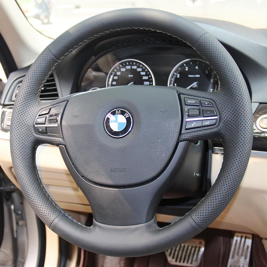 Чехол для BMW 525i 523i 320i руль автотентами стиль DIY натуральная кожа рулевое обложки анти-слип дышащий