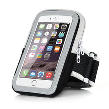 Reflecting Mark Sport Arm Band Case For iPhone 6 6S 4.7'' Outdoor Waterproof Night Running Gym Cell Phone Cover Breathable Bag(China (Mainland))
