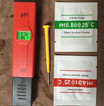 Buy pen-type Digital aquarium PH meter temperature Compensation ATC LCD Water Acidity Tester Aquarium backlight XJ for $4.58 in AliExpress store