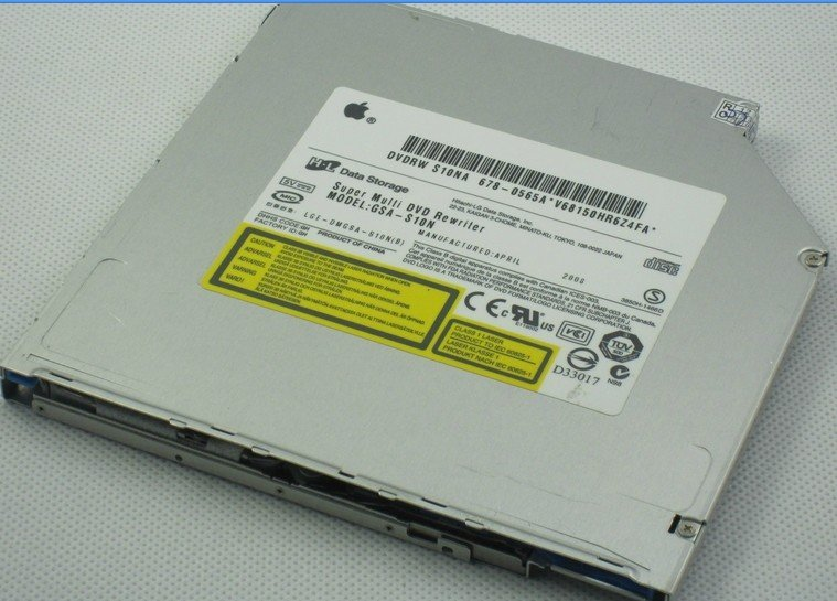 100% New original A1181/S10N/UJ-867/UJ-857 Super Slim Slot DVD-RW Burner Free shipping(China (Mainland))