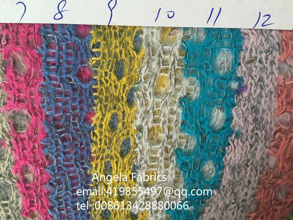 Wholesale knitted fabrics yards roll quality thin soft for Bulk sewing material