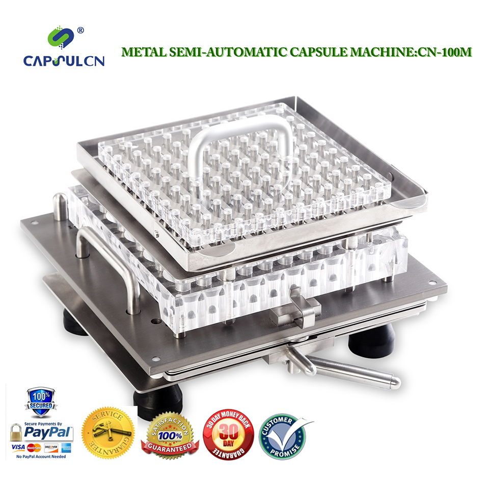 CapsulCN-100M Size 0 Semi-Automatic capsule filler/Capsule Filling Machine/Encapsulating Machines(Hong Kong)