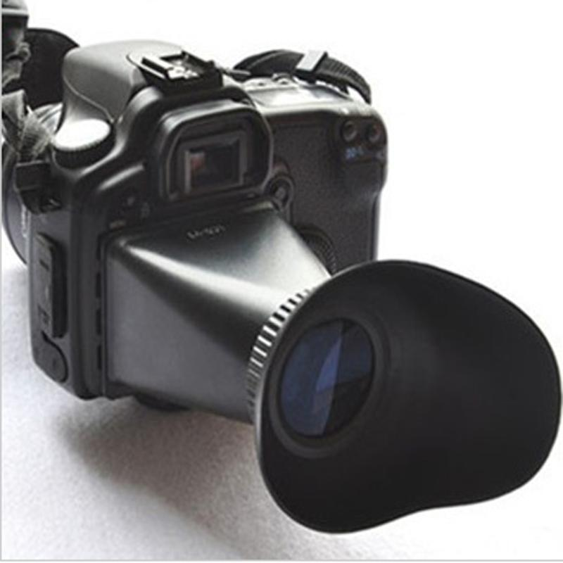 """3 inch"""" LCD Viewfinder x2.8 Inch Screen Magnifier V6 Mirrorless Camera"""""""