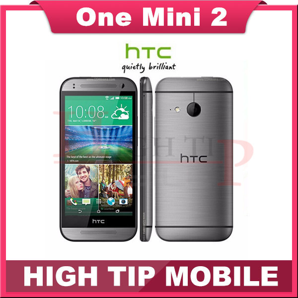 Original unlocked HTC One M8 mini cell phones HTC one mini 2 16GB Quad core WIFI 4.5 inch touch screen Free Shipping refurbished(China (Mainland))