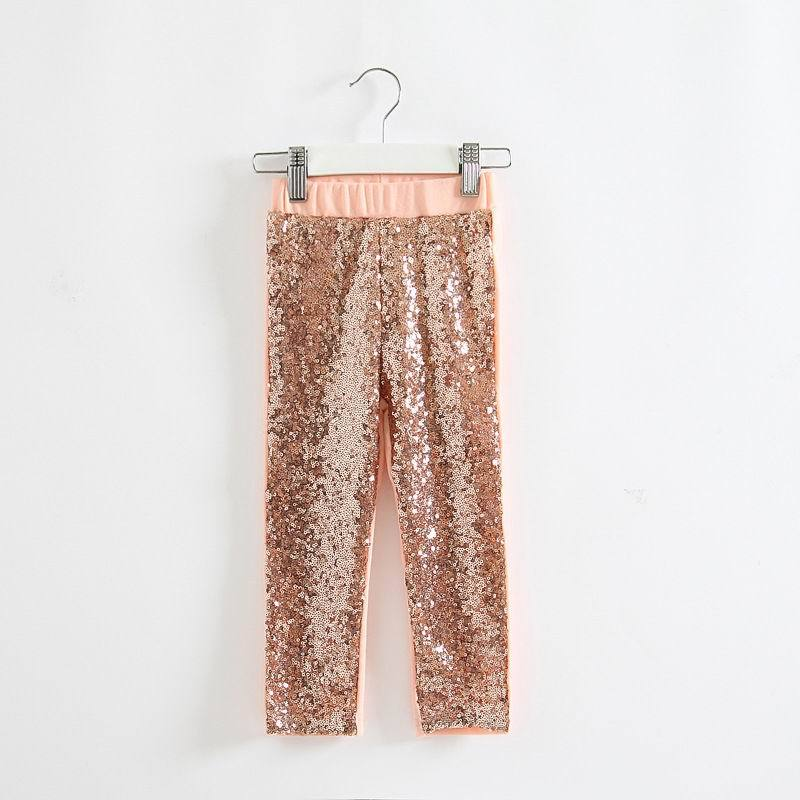 2015 New Girl Legging Sequin Spring Autumn Long 2-7T 3259