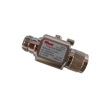 Towe TCS-G-N-50MF 0 - 2.5 г, 50 Ом, Bnc, Обоих концах mf, Номинальное напряжение 90 и 230 В, Imax : 20KA сетевой фильтр для антенны тв