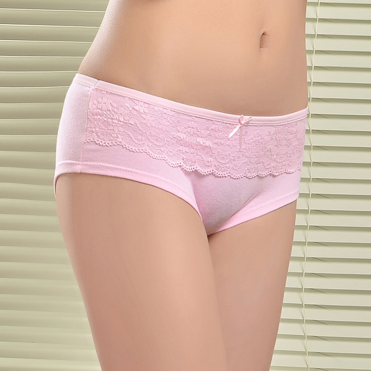 Cotton is always a great choice because it breathes, absorbs and is soft. Cotton fabric provides soft comfort against the skin and natural moisture-wicking ability to keep you cool and dry. Most cotton thongs are made with a touch of spandex for a stretch fit that hugs your curves for a perfect fit.