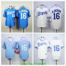 Cheap Kansas City Royals Jersey Men 16 Bo Jackson 2015 Cool Base & 1974 Throwback &1980 Throwback Baseball Jersey(China (Mainland))