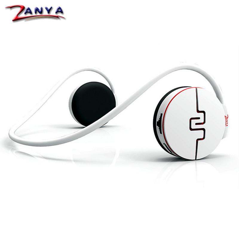 ZANYA Sports Headset Ear Hanging Headphone Intelligent Pedometer Folding Bluetooth V4.0 SD Card FM Radio Stereo Earphone ABT-100(China (Mainland))
