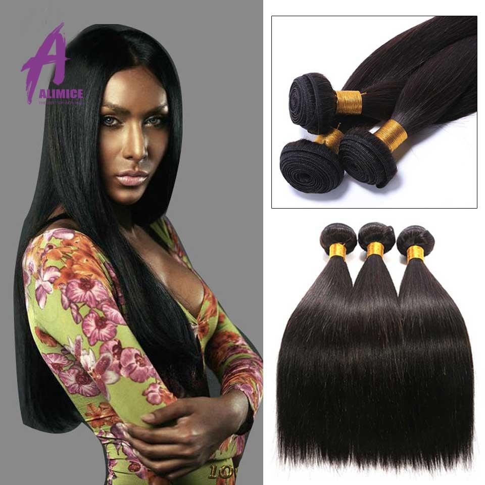 8A Indian Virgin Hair Straight 4Pcs 100% Human hair Unprocessed Raw Indian straight Hair Indian Straight Virgin Human Hair Weave<br><br>Aliexpress