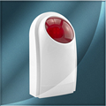 New Wireless External Flash LED strobe Light siren sensor Alarm Work With GSM PSTN SMS Home