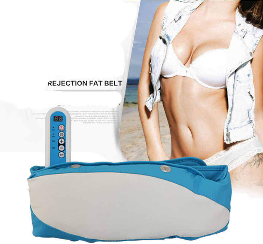 Good Body Wrap Electric Beauty Care Slimming Massager Belt Vibra Tone RELAX Vibrating Fat Burning Weight Loss Losing Effective(China (Mainland))