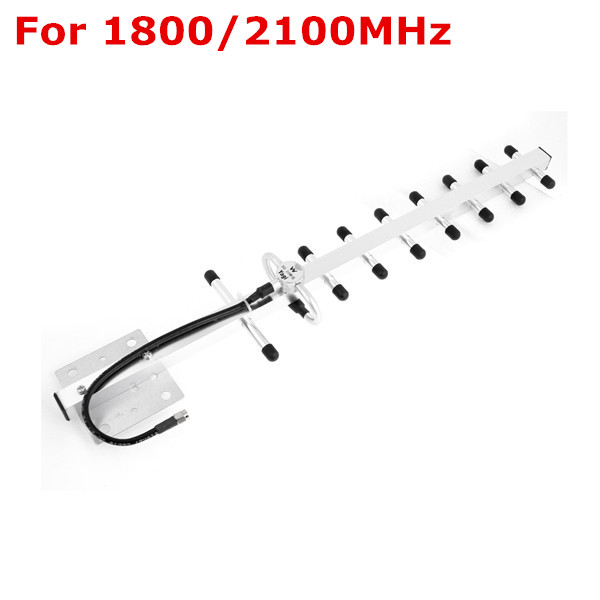 1PC 9 Unit 3G GSM WCDMA 1800/2100MHz Outside Yagi Antenna 13db N male for Mobile Phone Cell Phone Repeater Booster Amplifier