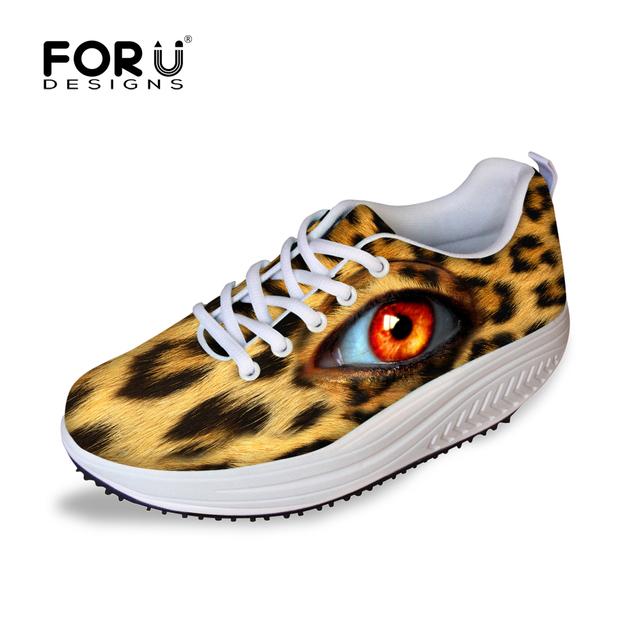 Мода леопарда американо-ученик глаз обувь для женщин для похудения обувь, Высокое ...