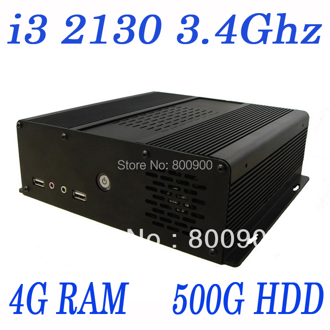 IN-Hi3 Intel i3 3.4Ghz industrial mini server slim server with PXE boot dual monitor supported small computer(China (Mainland))