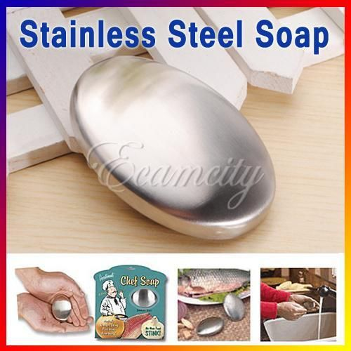 Kitchen Stainless Steel Soap Removing Eliminating Remover Odor Smell New Cleaner(China (Mainland))