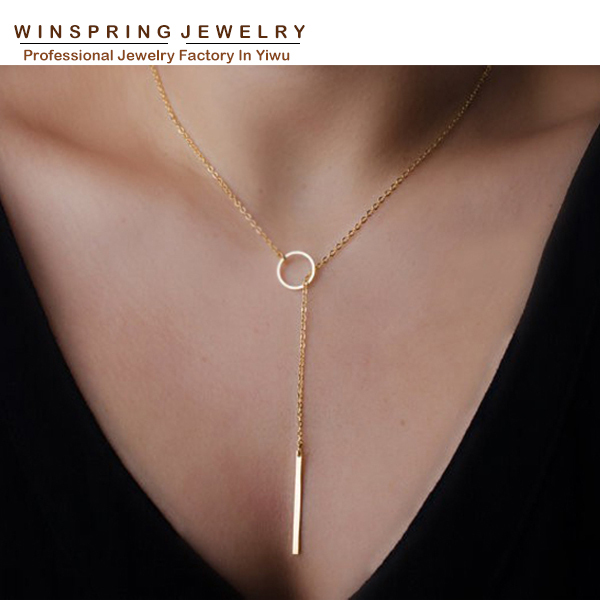 Гаджет  Hottest $0.6/pc Fashion Casual Personality Infinity Cross Lariat Pendant Gold Plated Necklace None Ювелирные изделия и часы